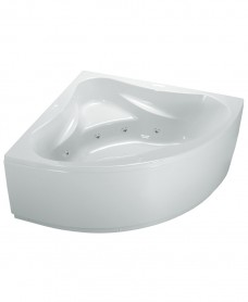 Ambassador 1400x1400 Corner 8 Jet Whirlpool Bath with Bath Panel