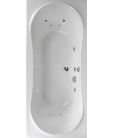 Apollo Maxi 1800x900 Double Ended 12 Jet Whirlpool Bath