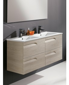 Brava Maple 120cm Vanity Unit 4 Drawer and Basin