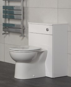 Belmont Back to Wall Unit - Special Offer* - includes E100 BTW toilet, cistern and seat
