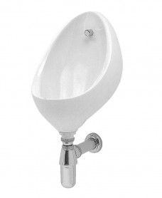 Clifton Urinal Bowl Pack 2 - Use With Concealed Pipework