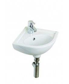 Compact Corner Basin with Choice of  Tap - *Special Offer