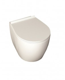 Sentimenti I Wall Hung Toilet and Soft Close Seat