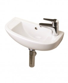 Compact Slimline Basin 45cm Right Hand with Cosmos Tap - *Special Offer