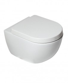 Darcy Rimless Wall Hung Toilet with soft close seat - * Special Offer
