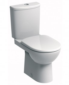 E100 Round Close Coupled Premium Toilet & Soft Close Seat