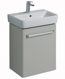 E200 550 Grey Vanity Unit Wall Hung