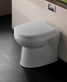 Twyford Galerie Back to Wall Toilet including Soft Close Seat