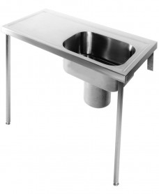 Penang HTM64 Plaster Sink 1200 x 600 Right Hand