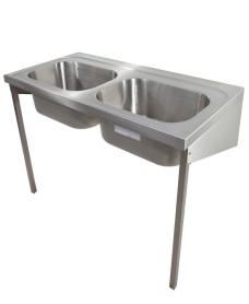 Sark HTM64 Healthcare Sink 1200 Double Bowl