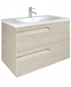 Brava 100 Maple 2 Drawer Unit & Idea Basin