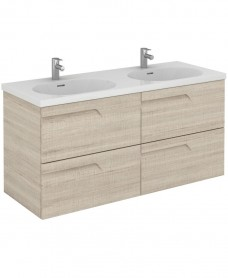 Brava 120 Maple 4 Drawer Unit & Idea Basin
