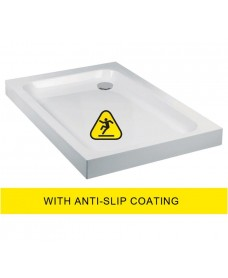 JT Ultracast 1000x900 Rectangle Shower Tray - Anti Slip