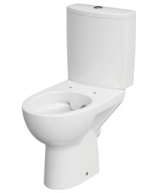 Parva Rimless Close Couple Toilet  and Soft Close Seat