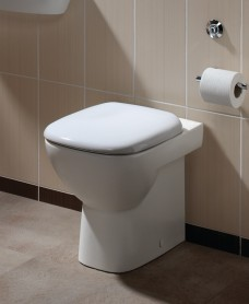 Twyford Moda Back to Wall Toilet & Soft Close Seat