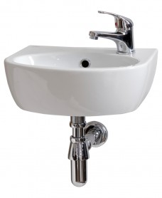 Parva Handrinse 40cm Basin RH (1TH) with Choice of Tap - *Special Offer