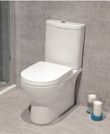 Perth Fully Shrouded Toilet and Soft Close Seat - Multi Outlet - Special Offer