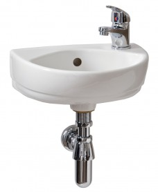 Twyford Refresh Cloakroom 36cm Basin (1 TH)