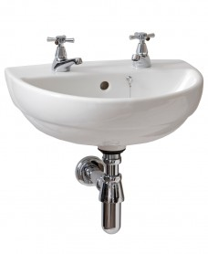 Twyford Refresh 45cm Handrinse Basin (2 TH)