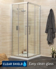 Revive 900 Corner Entry Shower Enclosure