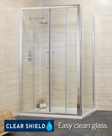 Revive 1700 Double Sliding Shower Enclosure