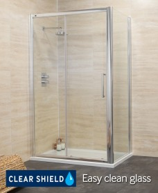 Revive Range 1600 Sliding Shower Enclosure