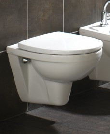 Twyford Refresh Wall Hung Toilet & Soft Close Seat