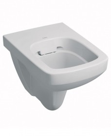 E100 Square Wall Hung Rimfree® Toilet with Seat