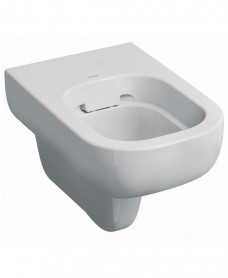 E500 Round Wall Hung Rimfree® Toilet with Seat