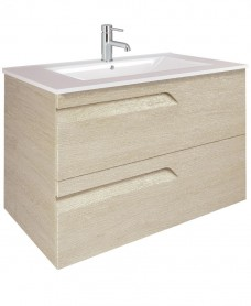 Brava 100 Maple 2 Drawer Unit & Toledo Basin