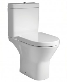 Resort Close Coupled Rimless Toilet & Soft Close Seat