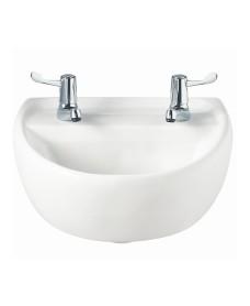 Sola Medical 400 Washbasin 2 Tap Hole