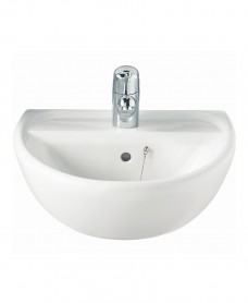 Sola 500 Washbasin 1 Tap Hole
