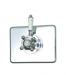 Traditional Concentric Dual Control Concealed Thermostatic Shower Valve