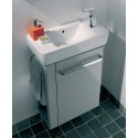 E200 500 Grey Vanity Unit Wall Hung