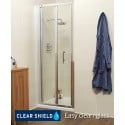K2 700 Bifold Shower Shower Door - Adjustment 660 -720mm