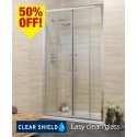 Revive 1700 Double Sliding Shower Door - Adjustment 1640-1700mm