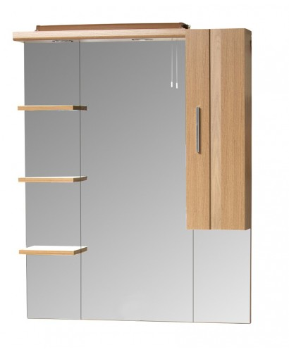 oslo walnut 80cm mirror mirrors cabinets bathroom