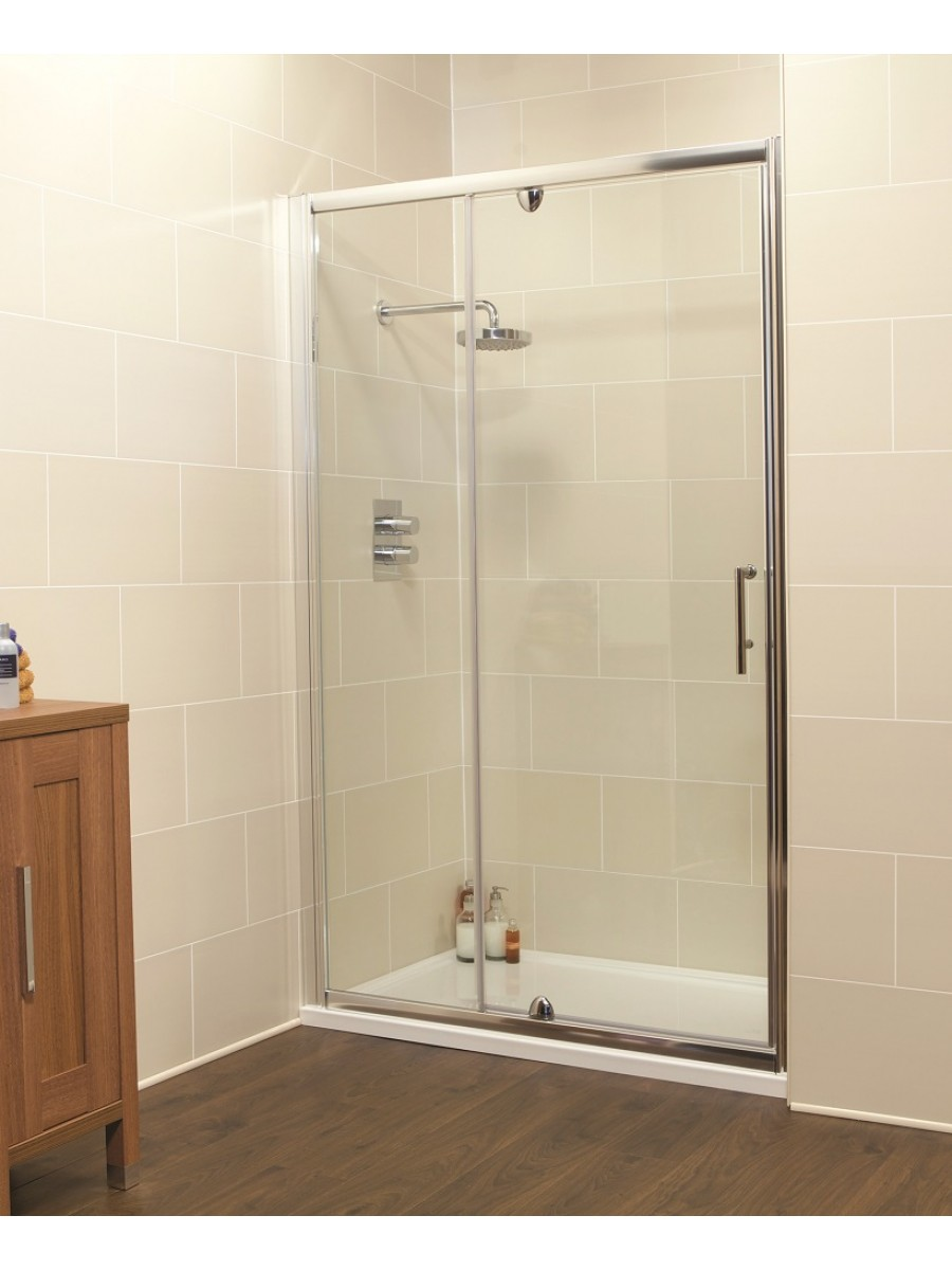 k2 1000 pivot inline shower enclosure