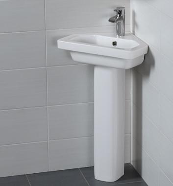 Corner Washbasins