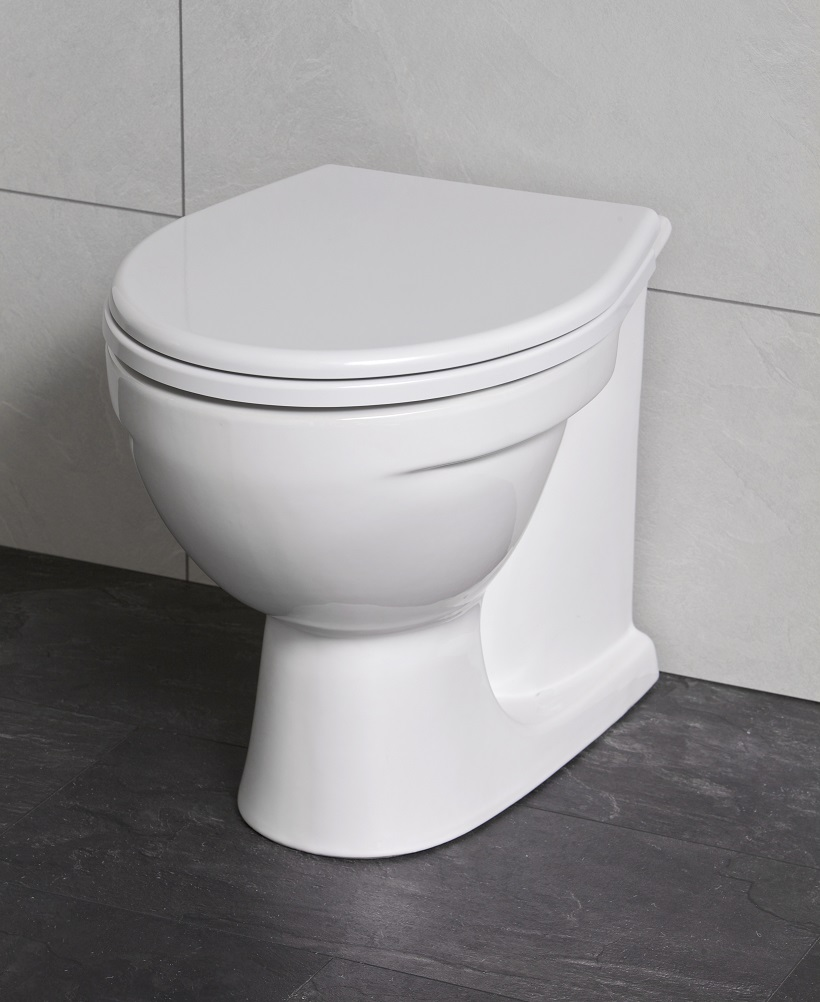 Twyford Alcona Back to Wall Toilet & Soft Close Seat