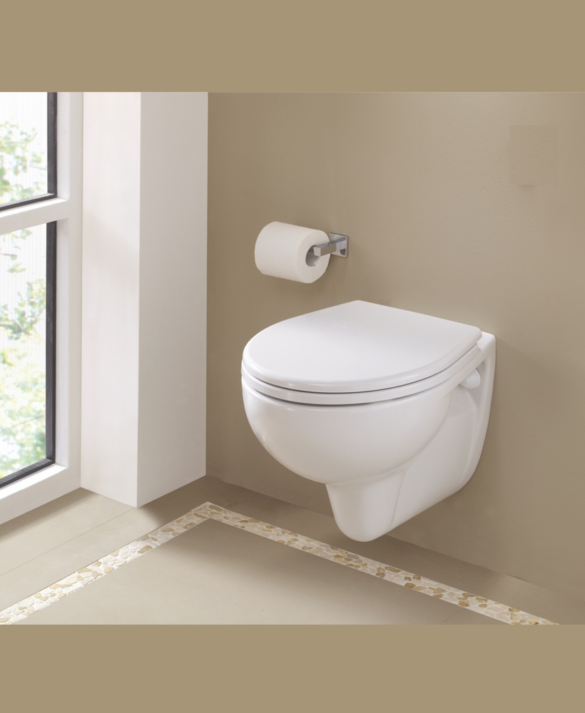 Twyford Alcona Wall Hung Toilet & Soft Close Seat