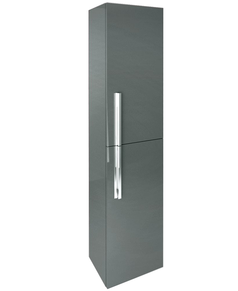 Avila Gloss Grey 30cm Wall Column