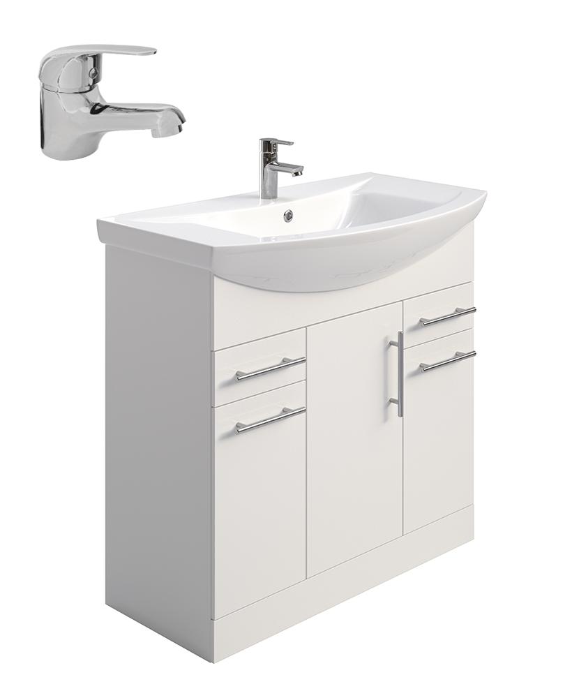 Belmont 85cm Vanity Unit - Special Offer* - includes tap & waste
