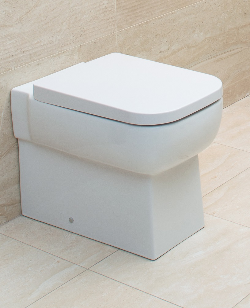 Florence Back To Wall Toilet & Soft Close Seat