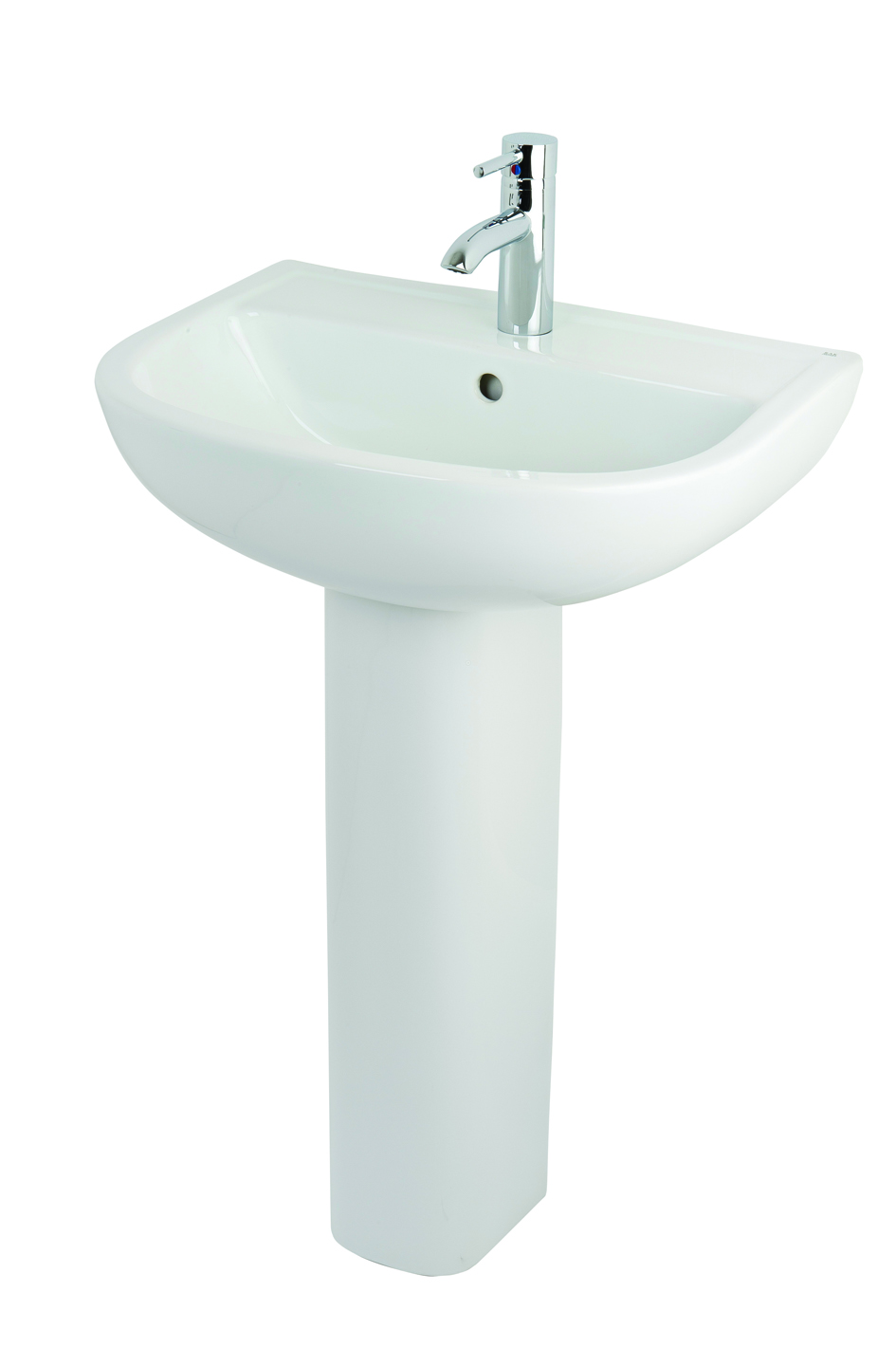 Compact Basin 55cm and Pedestal