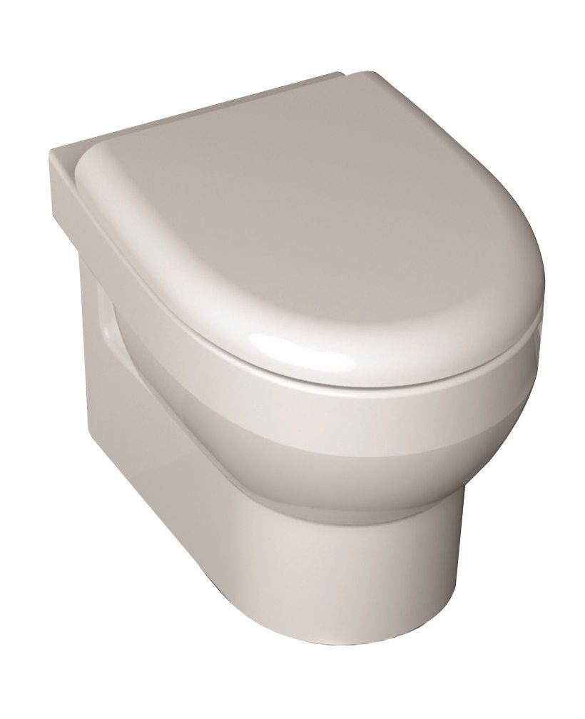 B Plus RIMLESS Wall Hung Toilet and Soft Close Seat