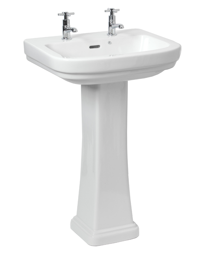 Decor Basin 55cm & Pedestal (2TH)