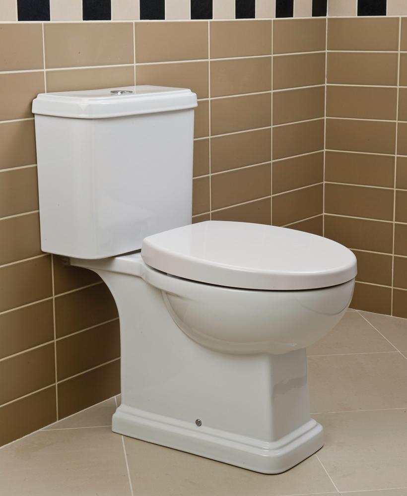 Decor Close Coupled Toilet & Soft Close Seat