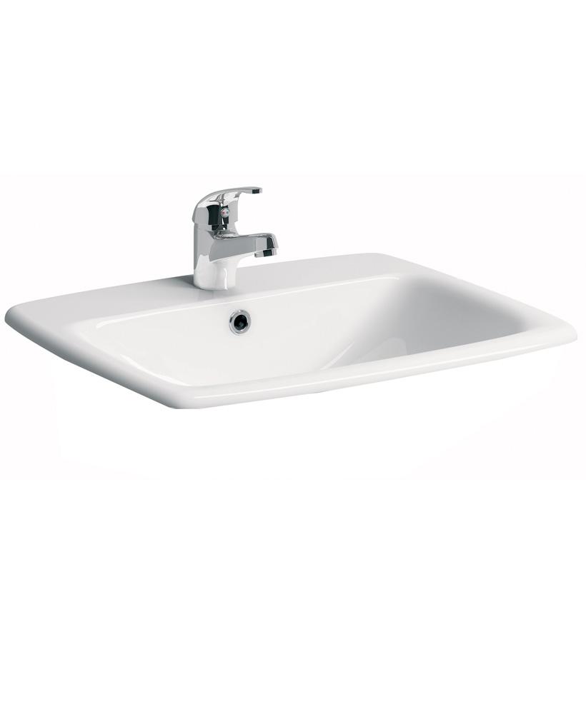 E100 Square 550 Countertop Basin